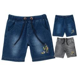 Riflové šortky dětské