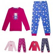Dívčí teplé pyžamo