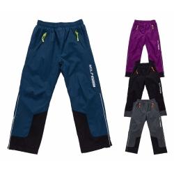 Zateplené kalhoty s fleecem