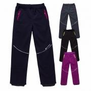 Dívčí zimní softshellové kalhoty