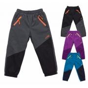 Kojenecké šusťákové kalhoty s fleecem
