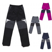 Dětské šustákové kalhoty s flísem