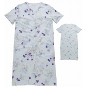 Dámská noční košile s krátkým rukávem