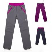 Dívčí softshellové kalhoty v