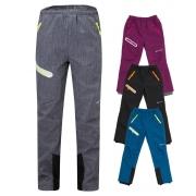 Softshellové kalhoty dětské s fleecem