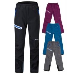 Dětské softshellové kalhoty s fleecem